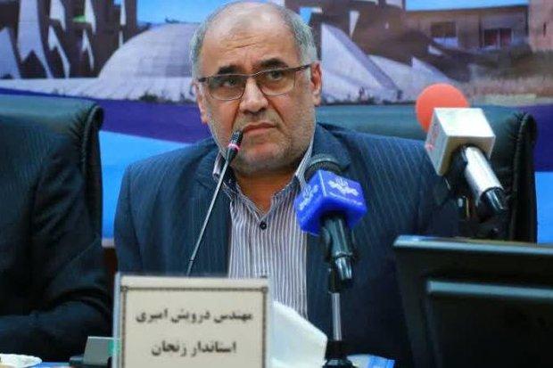 انتقاد استاندار زنجان از کارشکنی های شرکت آب منطقه ای زنجان