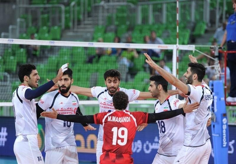 تیم ملی والیبال ایران در جدیدترین رنکینگ جهانی بدون تغییر در صندلی هشتم نهاده شد