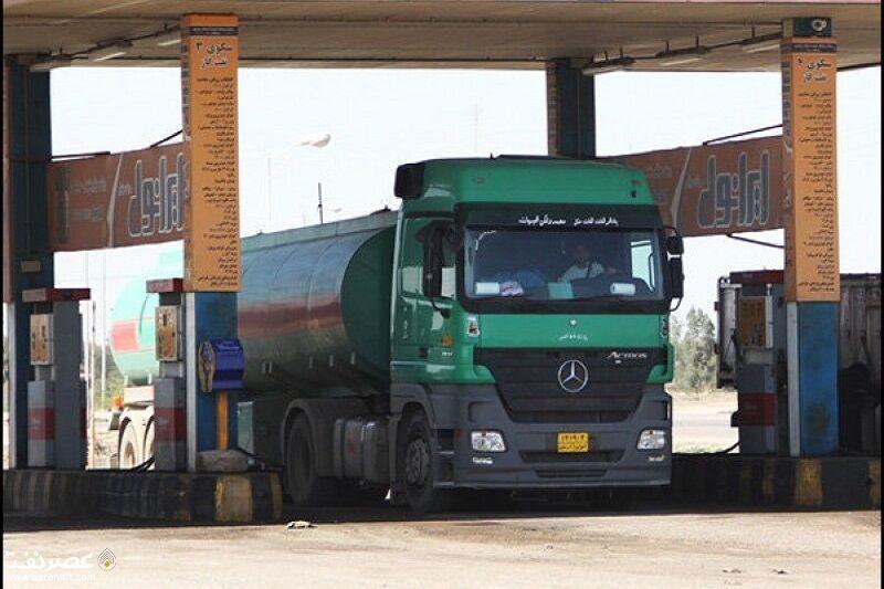 خبرنگاران افزایش معافیت نرخ تعادلی سوخت کامیون های برون مرزی در آستارا